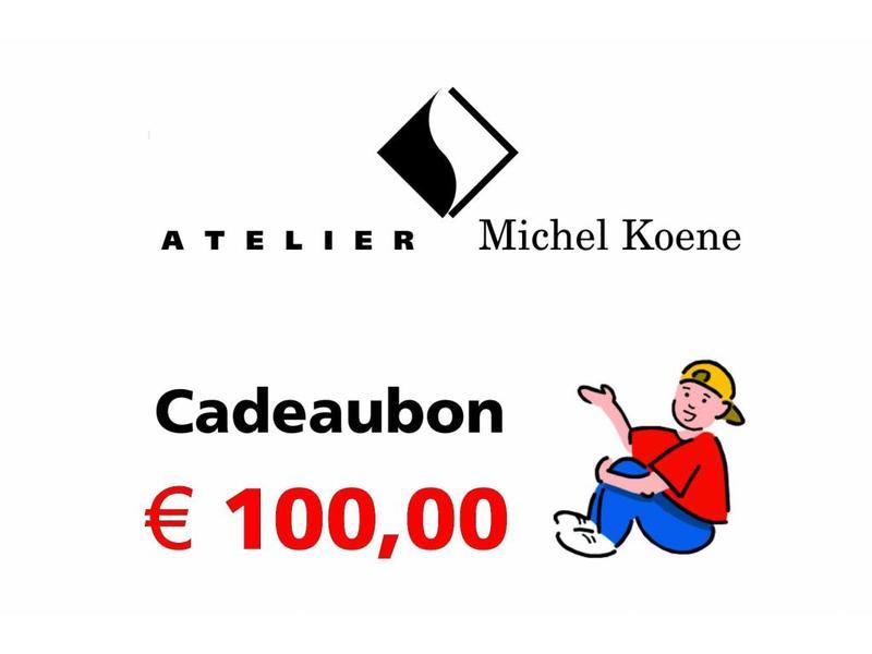 Atelier Michel Koene Cadeaubon 100,00