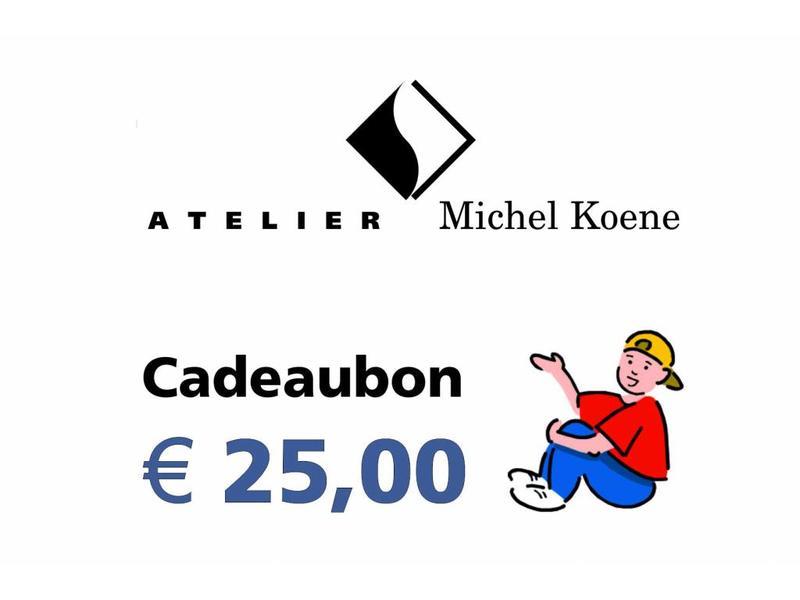 Atelier Michel Koene Cadeaubon 25,00