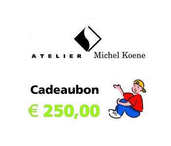 Cadeaubon € 250,00