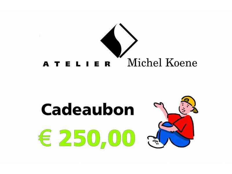 Atelier Michel Koene Cadeaubon 250,00