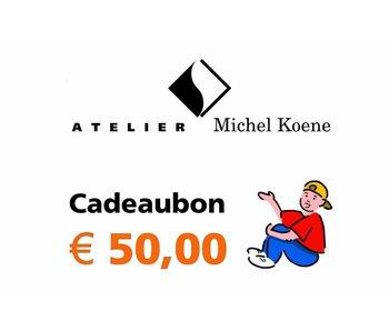 Cadeaubon € 50,00