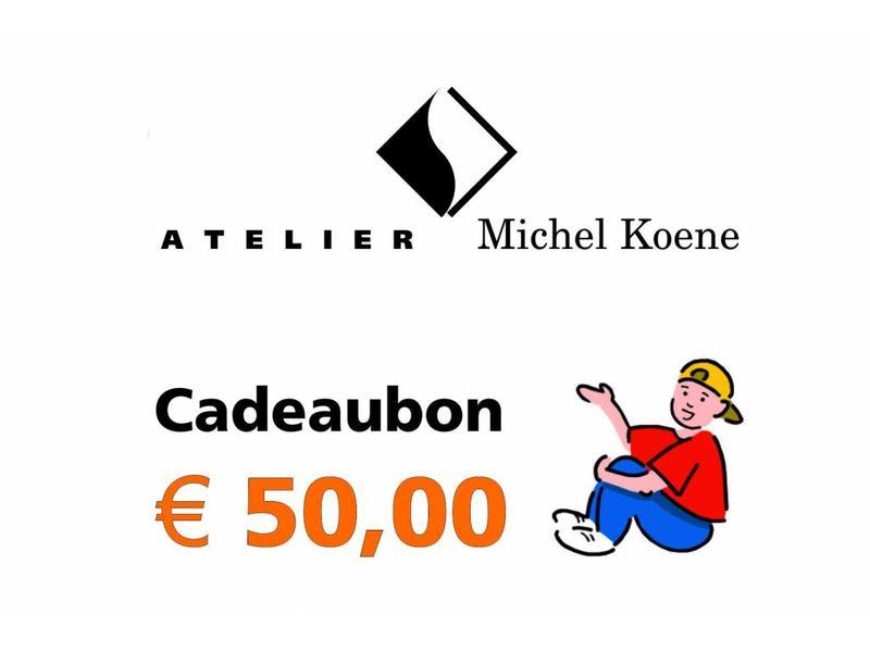 Atelier Michel Koene Cadeaubon  50,00