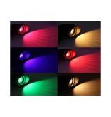 LED Tuinspot RGB-W 9Watt - warm wit en kleur 240 Volt IP65