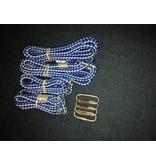 touwset 2 x kort / 2 x lang (met bevestiging)