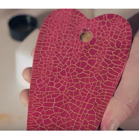 facettes Micro peinture, rouge