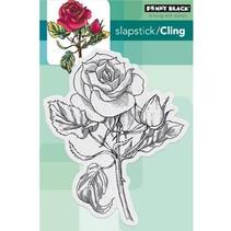 "timbre Transparent: ""Red Blush"" Rose Vintage"
