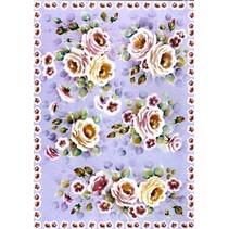 Decoupage papir Finmark Tender Roses