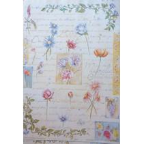 Decoupage papir Finmark Botanisk