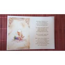 Poèmes sur papier calque, Communion