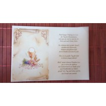 Poems on tracing paper, Communion