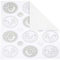 Le papier de design, 30,5 x30, 5 cm, 5 feuilles