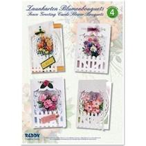 Kit Craft, Clôture Cartes de voeux Bouquets de fleurs