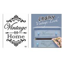 Universal Template Vintage Home A4