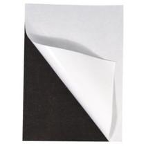 Magnetic sheet adhesive