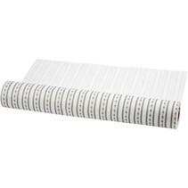 Design felt, W: 45 cm, white and gray, 1 m