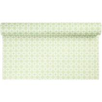 Design felt, W: 45 cm, green with motif, 1 m
