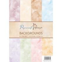 A4 Paper pack fond d'aquarelle, 40 feuilles