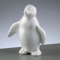 1 styrofoam form Penguin stående, 180 mm