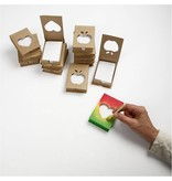 Objekten zum Dekorieren / objects for decorating Porte bloc-notes, la taille 10x7x2, 5 cm
