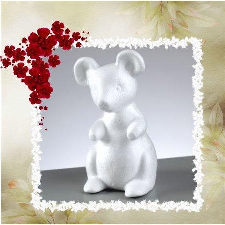 Objekten zum Dekorieren / objects for decorating 1 styrofoam form, mouse