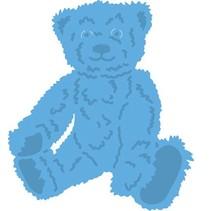 Stanzschablone: Tiny's teddy bear