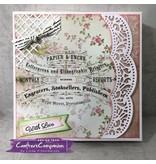 Crafter's Companion plantilla de perforación: elegante lamentable, fronteras