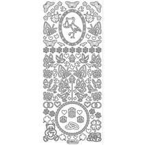 Ziersticker: Baby og bryllup dekorasjoner