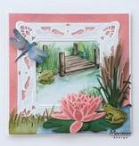 Marianne Design Stanzschablone: Frösche und Libelle