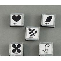 OLBA, un ensemble de morceaux d'estampage pour les fleurs OLBA pinces