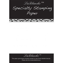 Special stamped paper from LaBlanche