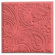 Une natte de texture, Paisley, 90 x 90 mm
