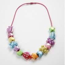 Bastelset: 1 Kinderfreundliche Halskette
