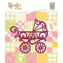 Stamping template: Stroller