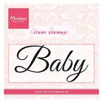 "Stamp transparente: ""Baby"""