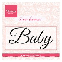 "Transparent Stamp: ""Baby"""