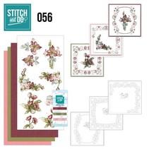 Carte set « Fleurs fantastiques » à brodent