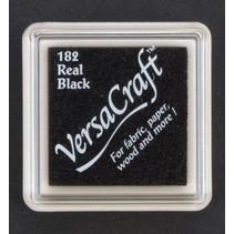 cojín de tinta, 33 x 33 mm, Negro