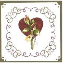 Set à broder carte « mariage »