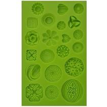 Delvist silikone forme