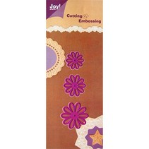 Punch - and embossing template
