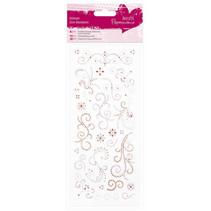 Sticker Glitter peger ornamenter