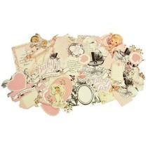motifs: Baby girl Chipboard