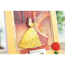 Matrices de découpe SET: Disney + timbre enchanté Belle Face