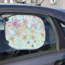 Pour décorer facile à peindre avec Stoffmalstift, - 2 pare-soleil pour la voiture