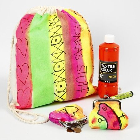 Objekten zum Dekorieren / objects for decorating A summer outfit for painting and decorating!