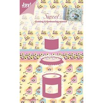 Joy Crafts, Sweet, Süssigkeiten, 35x43/43x26/25x21 mm