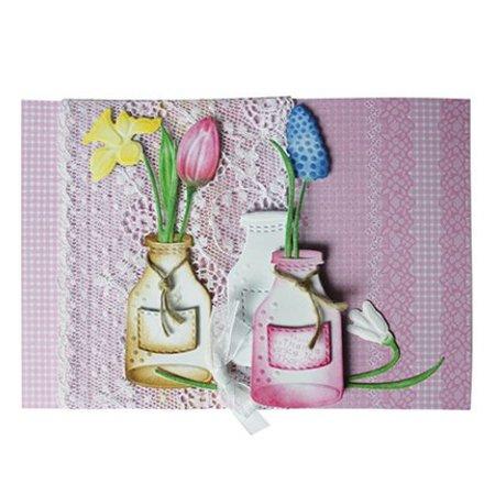 Joy!Crafts und JM Creation Alegría Oficios, botellas y etiquetas, 31x55/27x71/21x18mm