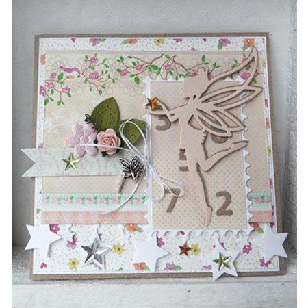 Marianne Design Prægning og udskæring skabelon, engel, fe