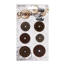 montres en métal, 6 pièces, Chronologie