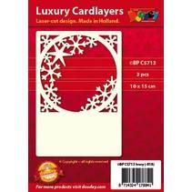 Tarjetas de Lujo Pad 1Ajuste con 3 tarjetas, 10 x 15 cm